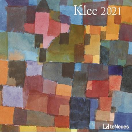 KLEE 30 X 30 GRID CALENDAR 2021