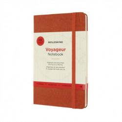 Moleskine Voyageur Travellers Notebook: Hibiscus Orange