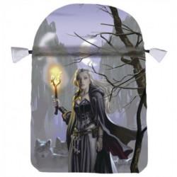 Witches Moon Satin Tarot Bag