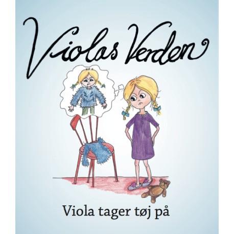 Viola tager tøj på