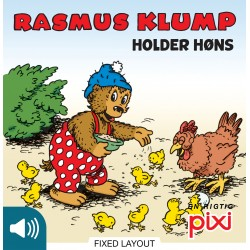 Rasmus Klump holder høns