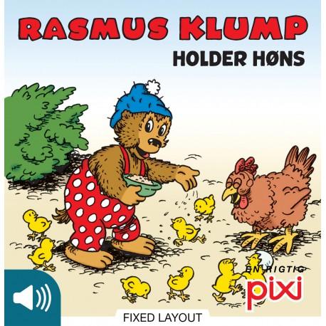 Rasmus Klump holder høns