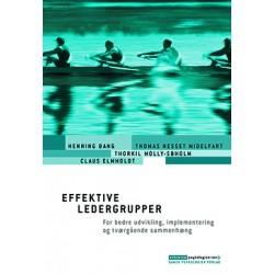 Effektive ledergrupper: For bedre udvikling, implementering og tværgående sammenhæng