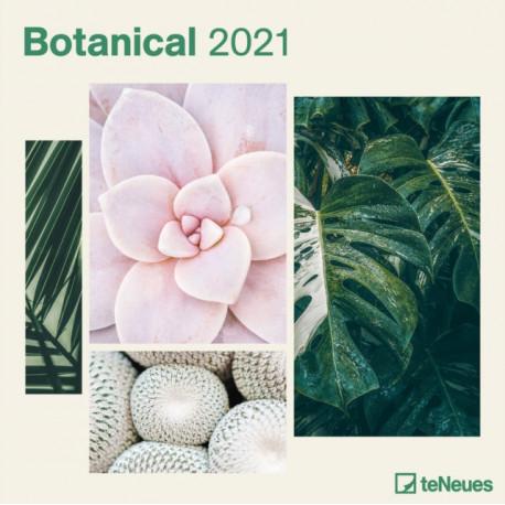 BOTANICAL 30 X 30 GRID CALENDAR 2021