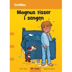 Magnus tisser i sengen