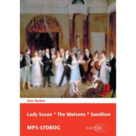 Lady Susan The Watsons Sanditon