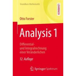 Analysis 1: Differential- und Integralrechnung einer Veranderlichen