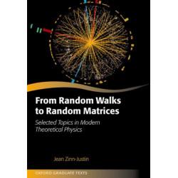 From Random Walks to Random Matrices