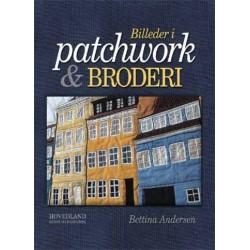 Billeder i patchwork og broderi