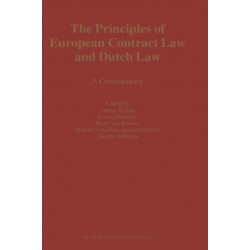 The Principles of European Contract Law and Dutch Law: A Commentary