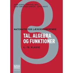 Tal, algebra og funktioner: 4.-10 klasse