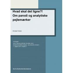 Hvad skal det ligne Om parodi og analytiske pejlemærker: Kapitel 3 i Systemteoretiske analyse