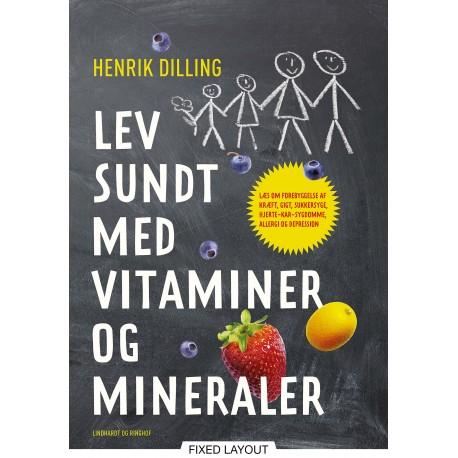 Lev sundt - med vitaminer og mineraler