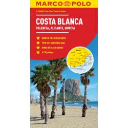 Costa Blanca Marco Polo Map