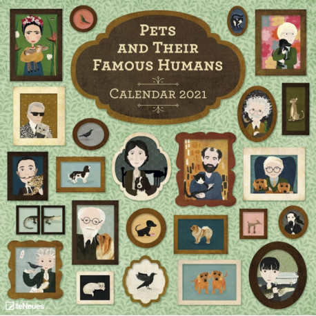 PETS & THEIR FAMOUS HUMANS 30 X 30 GRID