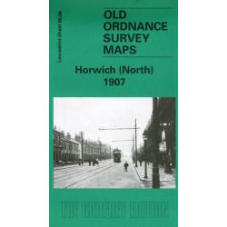 Horwich (North) 1907: Lancashire Sheet 86.06