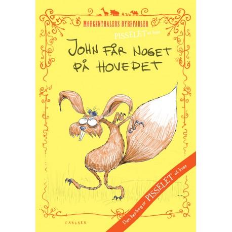 Pisselet at læse: John får noget på hovedet