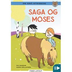 Kommas læsestart: Saga og Moses - niveau 2