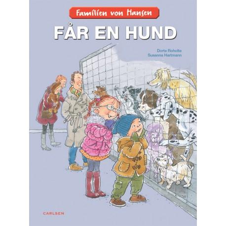 Familien von Hansen får en hund