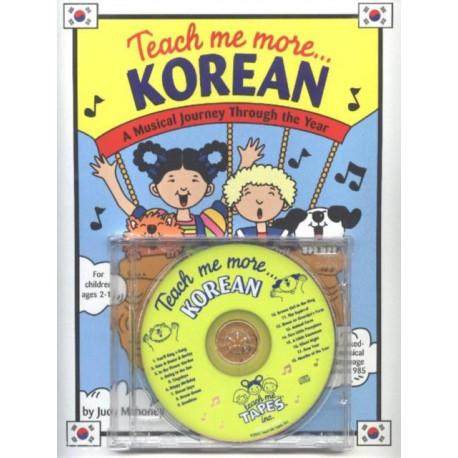 Teach Me More... Korean CD: A Musical Journey Through the Year