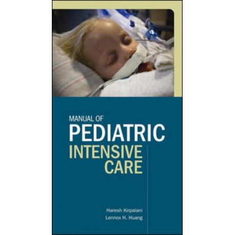 Manual of Pediatric Intensive Care
