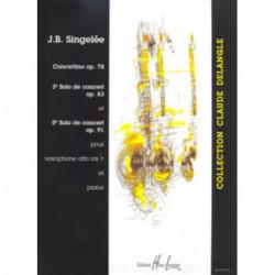 SOLOS DE CONCERT OP78 ALTO SAXOPHONE & P