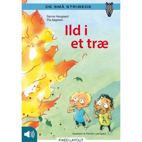 Kommas læsestart: Ild i et træ - niveau 1