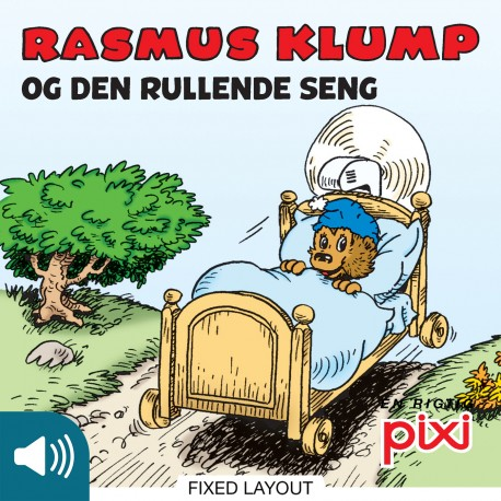 Rasmus Klump og den rullende seng