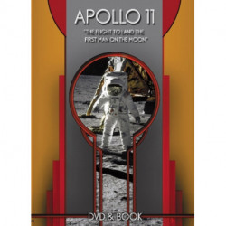 """Apollo 11 - DVD & Book Set: """"The Flight to Land the First Man on the Moon"""""""