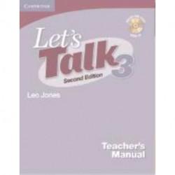 Let's Talk Level 3 Teacher's Manual with Audio CD