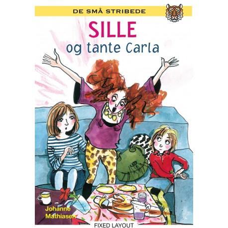 Kommas læsestart: Sille og tante Carla - niveau 2