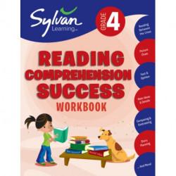 Fourth Grade Reading Comprehension Success (Sylvan Workbooks)