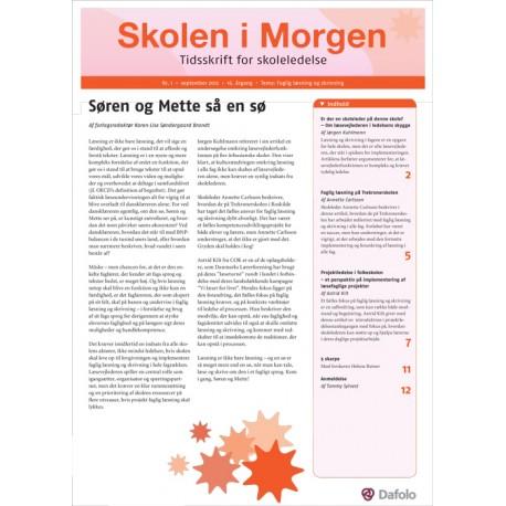 Skolen i Morgen. Nr. 1. September 2012. 16. årgang. Tema: Faglig læsning og skrivning