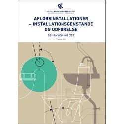 Afløbsinstallationer - installationsgenstande og udførelse