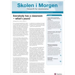 Skolen i Morgen. Nr. 6. Marts 2015. 18. årgang. Tema: Ledelse af feedback og vurdering for læring