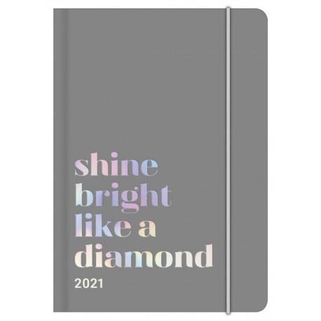 SHINE BRIGHT GLAMLINE DIARY 2021