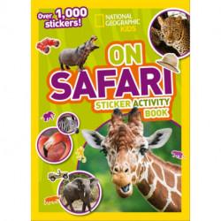 On Safari Sticker Activity Book: Over 1,000 Stickers!