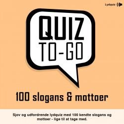 Lydquiz: 100 slogans og mottoer: Dette sjove spil udfordrer dine venner og familie