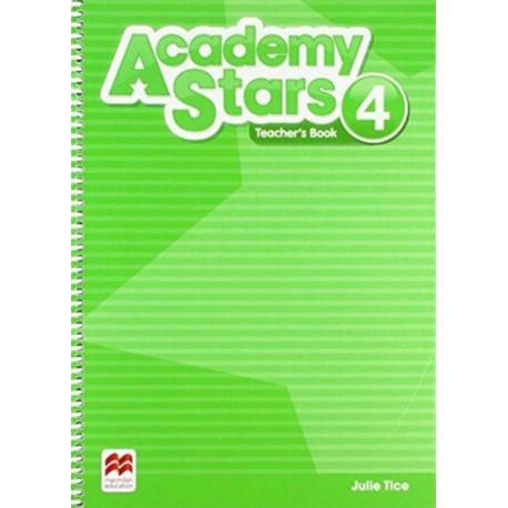 Academy Stars Level 4 Teacher's Book Pack
