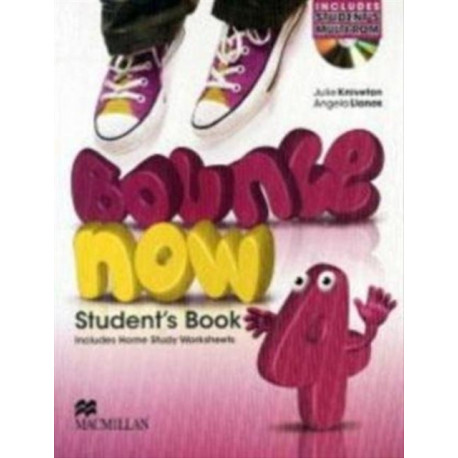 Bounce Now Level 4 Student's Book Pack