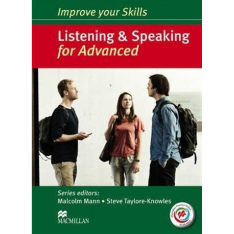 Improve your Skills: Listening & Speaking for Advanced Student's Book without key & MPO Pack