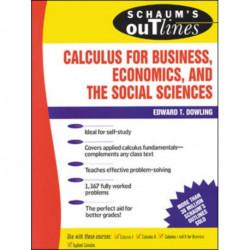 Schaum's Outline of Calculus for Business, Economics, and The Social Sciences