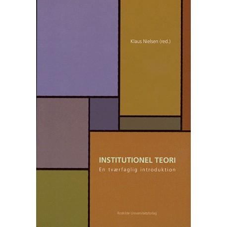 Institutionel teori: en tværfaglig introduktion