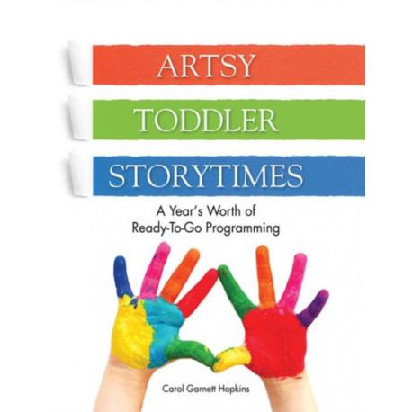 Artsy Toddler Storytimes