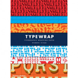 Type Wrap: Typographic Gift Wrapping Paper Book