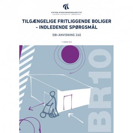 Tilgængelige fritliggende boliger - indledende spørgsmål