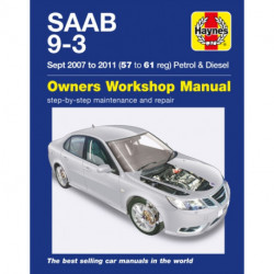 Saab 9-3 Petrol And Diesel Owners Workshop Manual: 2007-2011