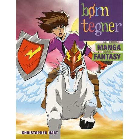 Børn tegner manga fantasy