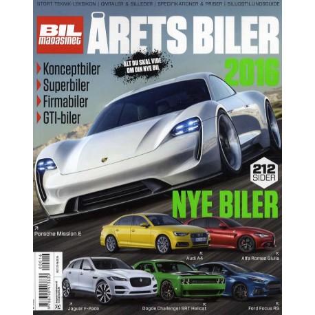 Årets Biler (årgang 2016)