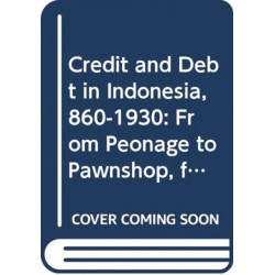 Credit and Debt in Indonesia, 860-1930: From Peonage to Pawnshop, from Kongsi to Cooperative